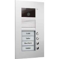 AVU14040-0030 - Video color Außenstation V PUK 4 Tasten 1-spalt AVU14040-0030