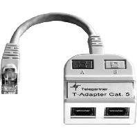 J00029A0013 - Modular-T-Adapter 1x10/100BT,1xISDN/g. J00029A0013