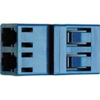 J08071A0000 - Durchführungskupplung LC-Duplex MM+SM J08071A0000