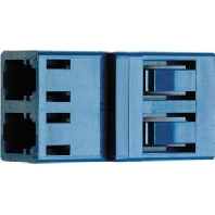 J08071A0017 - LC Duplex Kupplung MM Phosphorbronzehülse J08071A0017