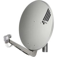 FESAT 85 HQ lgr - Offset-Parabolreflektor mit Masthalterung FESAT 85 HQ lgr