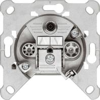 GDM 316 (10 Stück) - Modem-Antennendose 3f. erh.Rückflussdämpf. GDM 316