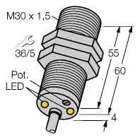 DBI10U-M30-AP4X2 - Drehzahlwächter DBI10U-M30-AP4X2