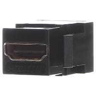 918.040 - HDMI Keystone Kupplung schwarz Bu/Bu 918.040