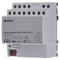 75316003 - Heizungsaktor 6fach Triac 230VAC REG 75316003
