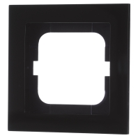 1721-281 - Rahmen 1fach, schwarz 1721-281