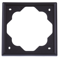 1721-775 - Rahmen 1fach, schwarz matt 1721-775