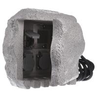 230 3FE3 - Energieverteiler Stein 3-fach m. Funkempf. 230 3FE3