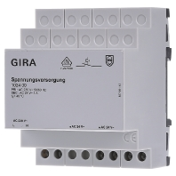 GIRA voed eenh bussyst KNX, DRA (DIN-rail ad)