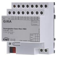 211400 - Heizungsaktor 6f basic KNX REG 211400 - Aktionspreis