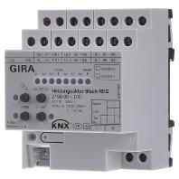 215800 - KNX Heizungsaktor 6fach Plus REG 215800 - Aktionspreis