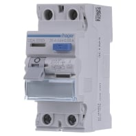 Aardlekschakelaar 25 A 230 V-AC, 400 V-AC Hager CDA225D