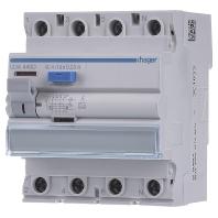 Aardlekschakelaar 40 A 230 V-AC, 400 V-AC Hager CDA440D