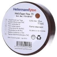 Flex 15-BR15x10m - PVC Isolierband braun Flex 15-BR15x10m