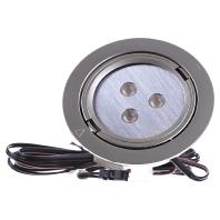 ARF68-LED 3x1W wweds - LED-Einbauleuchte edelstahloptik ARF68-LED 3x1W wweds