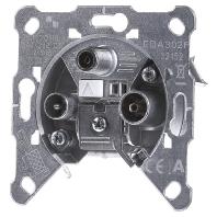 EDA 302 F - Einzeldose 3-Loch Universal EDA 302 F