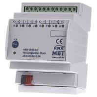 AKH-0800.02 - EIB/KNX Heizungsaktor 8-fach, 4TE, REG, 24-230VAC - AKH-0800.02