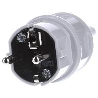 10749 - Schuko-Stecker 16A,2p+E,230V,IP44gr 10749