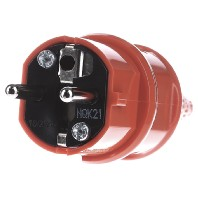 10837 - Schuko-Stecker 16A,2p+E,230V,or 10837