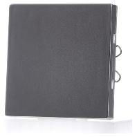 570160 - Zentralplatte alu für Sensordimmer 570160, Aktionspreis