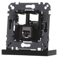 MEG4575-0011 - Tragplatte 1fach m. RJ45 Cat5e STP MEG4575-0011, Aktionspreis