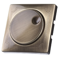 MEG5250-4143 - Zentralplatte mess mit Drehkknopf MEG5250-4143, Aktionspreis