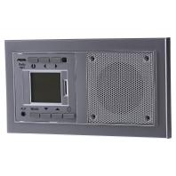 D 20.486.702 FU MP3 - AudioPoint Funk alu im NOVA-Design D 20.486.702 FU MP3