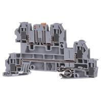 UTI 2,5-PE/L/NTB (50 Stück) - Installationsetagenklemme 0,2-4qmm 5,2mm gr UTI 2,5-PE/L/NTB