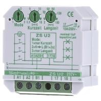 ZS U2 - Lichtzeit-Impulsschalter m.3 Modi 1S 16A ZS U2