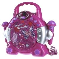 KCD46LI lila - Kinder-CD-Spieler Mikrofon KCD46LI lila