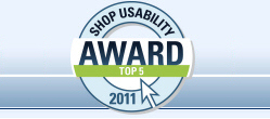 eibmarkt.com - TOP 5 Shop - Usability Award 2011! Further information at eibmarkt.de