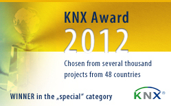 eibmarkt&reg;.com GmbH - WINNER KNX&reg; Award 2012, more information at www.eibmarkt.de