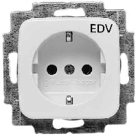 socket outlet receptacle 20 euc dv 214. Black Bedroom Furniture Sets. Home Design Ideas