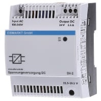 Voltage supply SV-2, MDRC, 24 VDC, 2.5A, adjustably