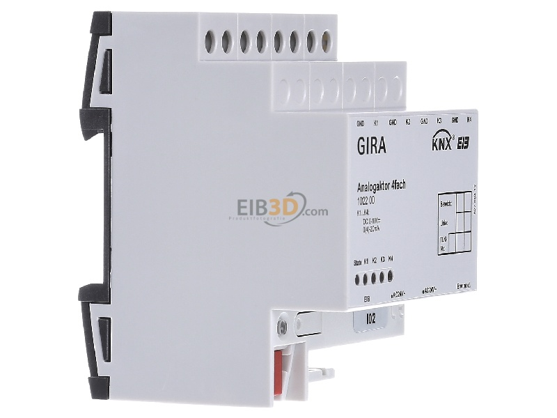 eib knx analogue actuator 4 fold for the conversion of eib knx telegrams to. Black Bedroom Furniture Sets. Home Design Ideas