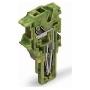 Image of 2022-187 (250 Stück) - Endmodul 1-polig, grün-gelb 2022-187