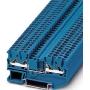 Image of DT 2,5-QUATTRO BU (50 Stück) - Durchgangsklemme, blau H=5,2mm 0,25-2,5qmm DT 2,5-QUATTRO BU