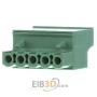 Image of FRONT-MSTB 2,5/ 5-ST - COMBICON Leiterplattenstec kverbinder FRONT-MSTB 2,5/ 5-ST
