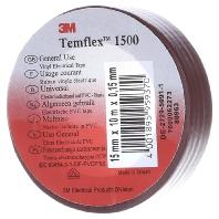3M Temflex 1500 Isolatietape (l x b) 10 m x 15 mm Bruin Inhoud: 1 rollen