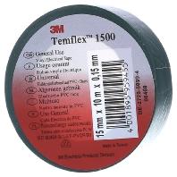 3M Temflex 1500 Isolatietape (l x b) 10 m x 15 mm Groen Inhoud: 1 rollen