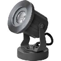 60102223 - LED-Aufbaustrahler 230V IP65 eds/sw 60102223