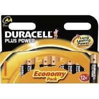Duracell Plus Power AA batterij (penlite) Alkali-mangaan 1.5 V 12 stuks