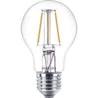 Philips Classic LEDbulb 4-40W 2700K E27 A60 Clear