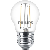 Philips Classic LED Luster ND 2-25W P45 E27 827 CL