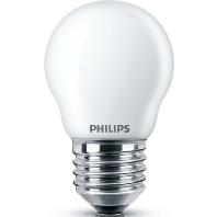 Philips Classic LEDlustre E27 P45 2.2W 827 Mat   Vervangt 25W