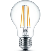 Philips Classic LEDbulb E27 A67 8W 827 Helder | Dimbaar Vervangt 60W