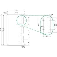 nsysrce660-dach-sf-600x600mm-kabeleinfuhrungspla-nsysrce660, 31.68 EUR @ eibmarkt