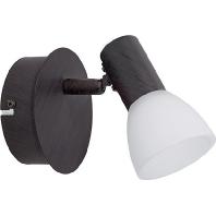 94151 - LED-Wandleuchte antik-braun/sat 94151