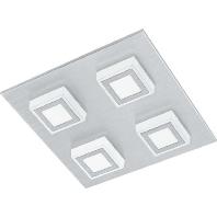 94508 - LED-Wand-/Deckenleuchte alu-gebürstet/sat 94508