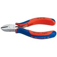 Knipex Zijsnijtang Uitvoering Zijsnijtang met facet, met openingsveer Snijwaarden (max.) Zacht-midde